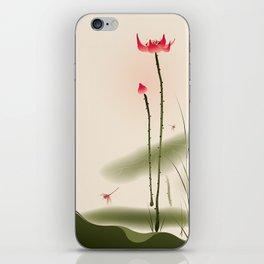 Oriental Lotus 002 iPhone Skin