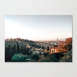 Florence Skyline Canvas Print
