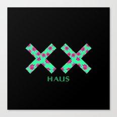 Neon Double Cross | X Canvas Print
