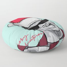 Risky Christmas Floor Pillow