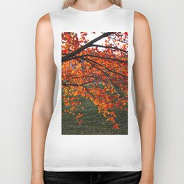 Red Maple Biker Tank