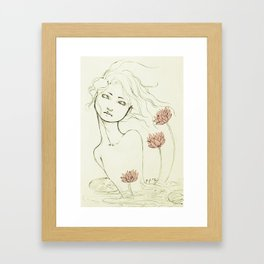 Rise. Framed Art Print