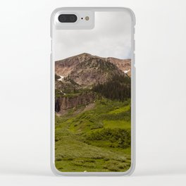 Mountain Views Clear iPhone Case