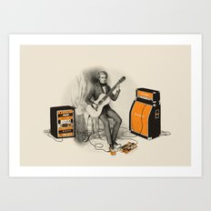 Unimaginable Symphonies Art Print