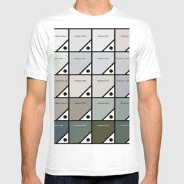 50 Shades Of Pantone Grey T-shirt