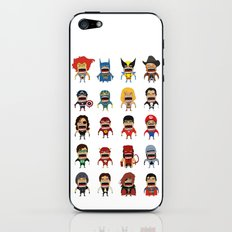Screaming Heroes iPhone & iPod Skin