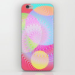 Re-Created Twisters No. 2 by Robert S. Lee iPhone Skin