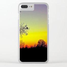 Metamora, Michigan Fall Sun Clear iPhone Case