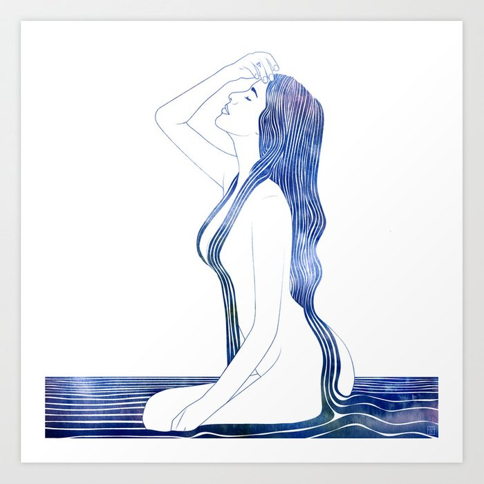 Nereid XVIII Art Print
