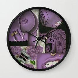 beauty in ink Wall Clock