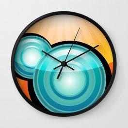 EarthBuzz Wall Clock