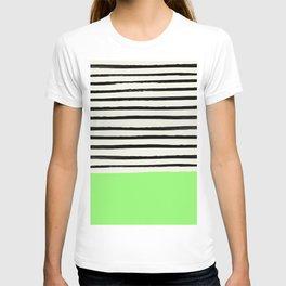 Key Lime x Stripes T-shirt
