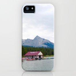 lac maligne, 2017 iPhone Case