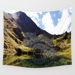 Mountain reflection  Wall Tapestry