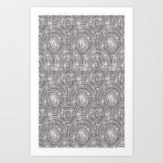 Lotsa Bling Art Print