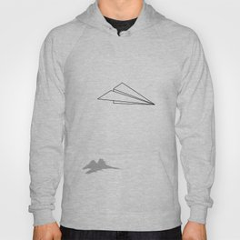 Paper Airplane Dreams Hoody