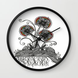 Natures Flow Wall Clock