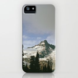 Mountain Snow iPhone Case