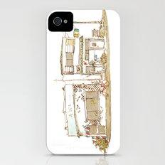 Two Buildings Slim Case iPhone (4, 4s)