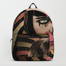 Washed Up Washed Out Backpack