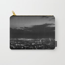 Torino wears black Carry-All Pouch