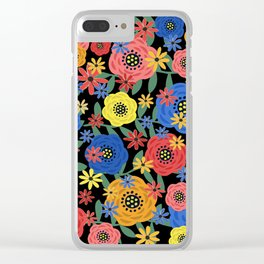 Fantasy Floral Design #31118 Clear iPhone Case
