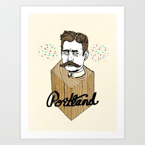 PORTLAND OREGON II Art Print