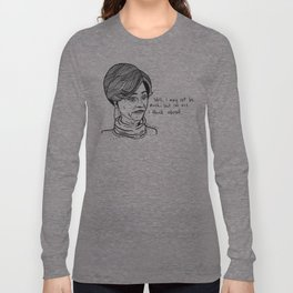Jerri Blank Portrait Long Sleeve T-shirt