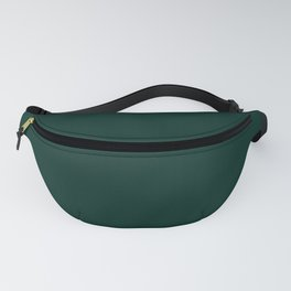 Night Forest Color Solid Block Fanny Pack