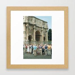 In Rome 2 Framed Art Print