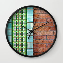 Mixed, not Matched  Wall Clock