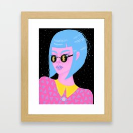 Moonglasses After Dark Framed Art Print