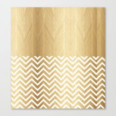HERRINGBONE 2 Canvas Print