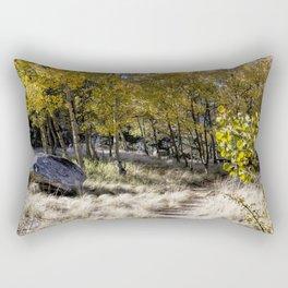 Into The Gold Rectangular Pillow