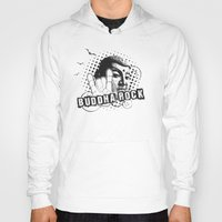 rock and roll Hoodies featuring BUDDHA Rock & Roll ! by Nirvana.K