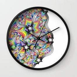 Bored At School (Period 2) Wall Clock