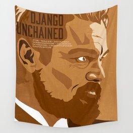 Quentin Tarantino's Plot Movers :: Django Unchained Wall Tapestry