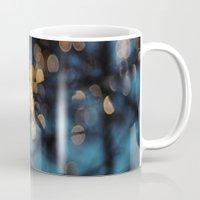 prague Mugs featuring Prague Sparkles by Bella Blue Photography