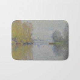 Autumn on the Seine, Argenteuil Bath Mat