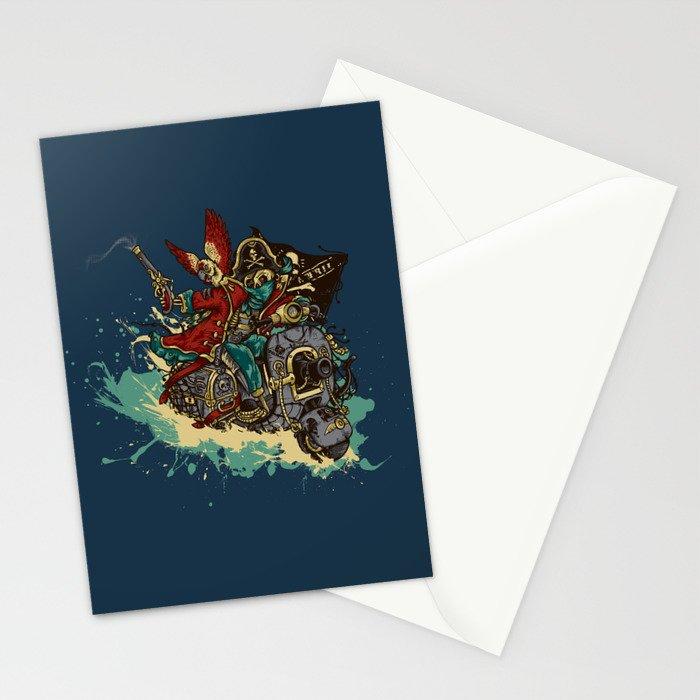 Sea Traveler Stationery Cards