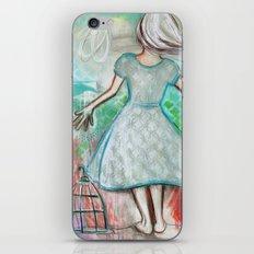 The Bird Catcher iPhone & iPod Skin