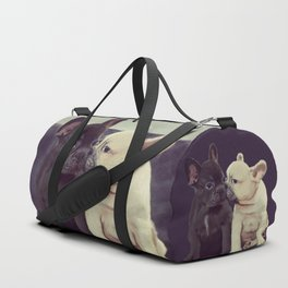 Frenchie kiss Duffle Bag