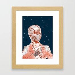 Beyond space mercenary Framed Art Print