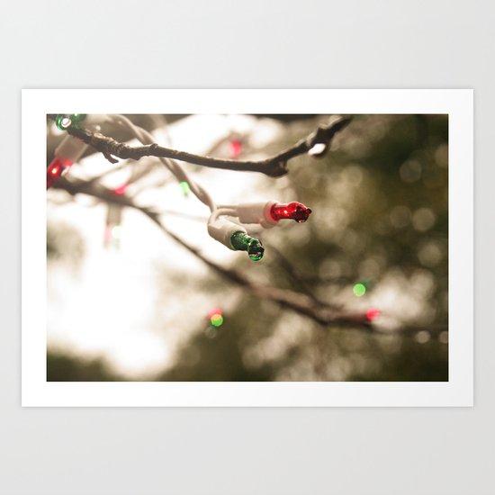 I'm Dreaming of a ... Wet Christmas? Art Print