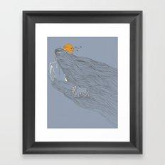 Howl River Framed Art Print