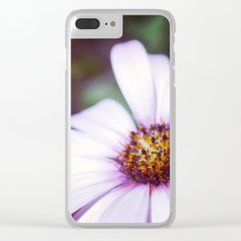 Vintage Flower Clear iPhone Case