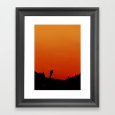 The Sociopath Seven: The Home Trasher Framed Art Print