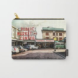 Seattle Pike Place Market Carry-All Pouch