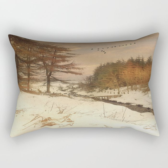 A winter's Tale Rectangular Pillow