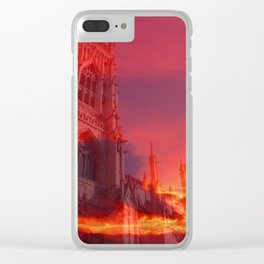 Fire from the Pulpit Clear iPhone Case